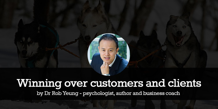 Rob Yeung - Winning over customers and clients - 6 top tips