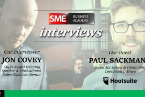Social Media for Small Businesses (Hootsuite advice) – video interview with Paul Sackmann (part 2)