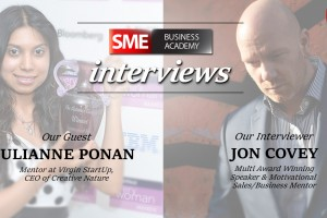 Julianne Ponan Interview - Mentor at Virgin StartUp, CEO of Creative Nature Superfoods