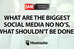 What are the biggest social media No No's, what shouldn't be done? - Interview with Paul Sackmann (Hootsuite)