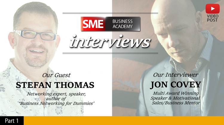 Interview with Stefan Thomas - Networking (part 1)