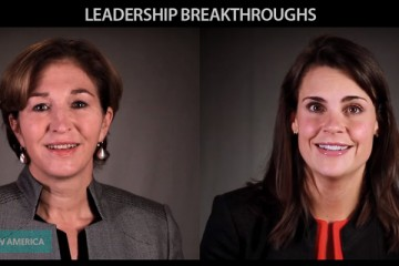 Leadership Breakthroughs - Emily White (Instagram), and Anne-Marie Slaughter (New America Foundation)