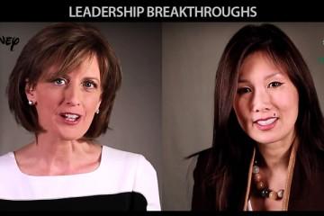 Leadership Breakthroughs - Anne Sweeney (Disney) and Annie Young-Scrivner (Starbucks)